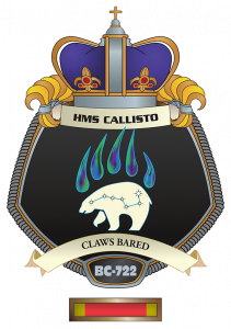 "HMS Callisto: ""Claws Bared"": BC-722"